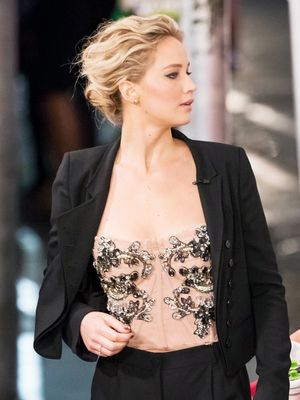 Jennifer Lawrence Just Styled Her Tuxedo In the Most Perfect Way