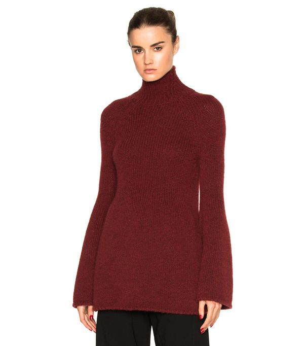 Rosetta Getty Bell Sleeve Sweater