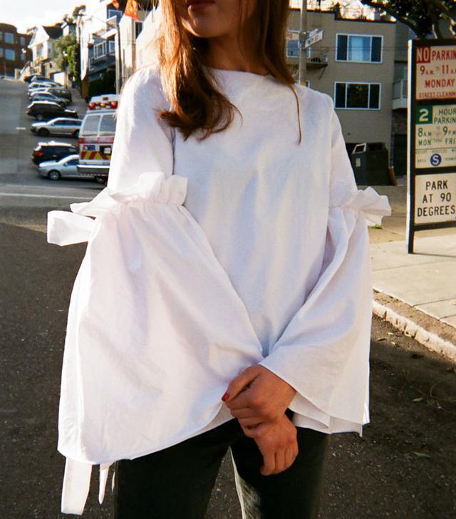 Style Mafia Martine Top in White