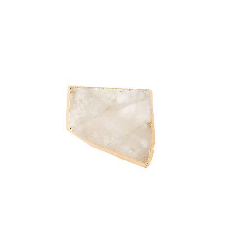 Natural kivita crystal coasters