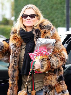 What Kate Moss Wears When She's Not in All Black