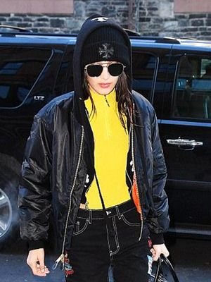 Why This Outfit Is Super Unexpected for Bella Hadid