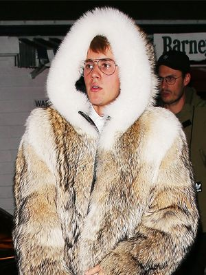 Justin Bieber Just Wore Winter's Coolest Outfit Combo