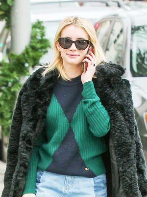 The 3 Major Trends Emma Roberts Wears With Flats