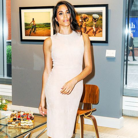 Meghan Markle style: Finally, a shift dress is always handy to have in your wardrobe