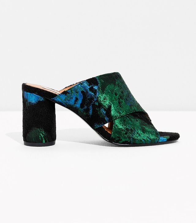 & Other Stories Jacquard Mule
