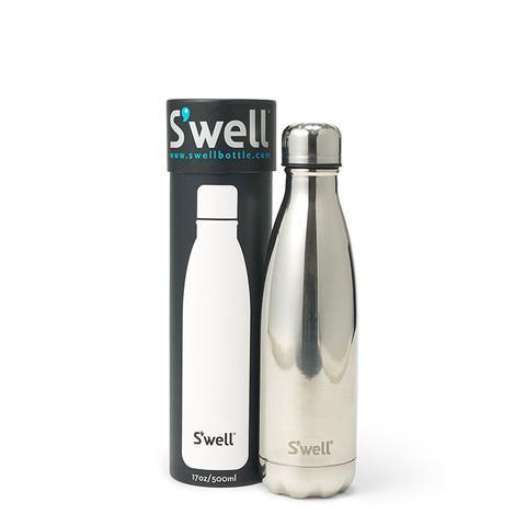 Silver Water Bottle