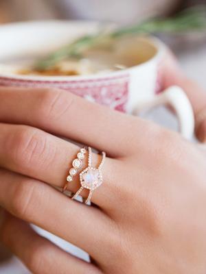 7 Breathtaking Moonstone Engagement Rings