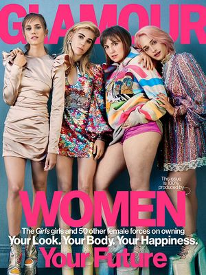 The Cast of Girls Wore the Highest of High Heels for Glamour