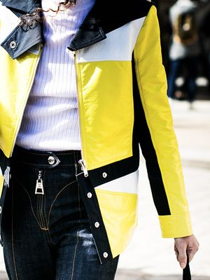 The Hard-to-Wear Color That's Popping Up Everywhere