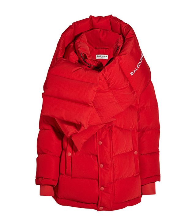 Balenciaga Oversized Quilted Shell Jacket