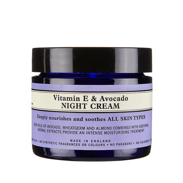 Avocado Oil: Neal's Year Vitamin E & Avocado Night Cream