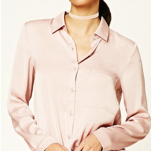 Sheeny Satin Shirt