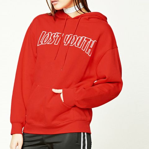 Lost Youth Graphic Hoodie