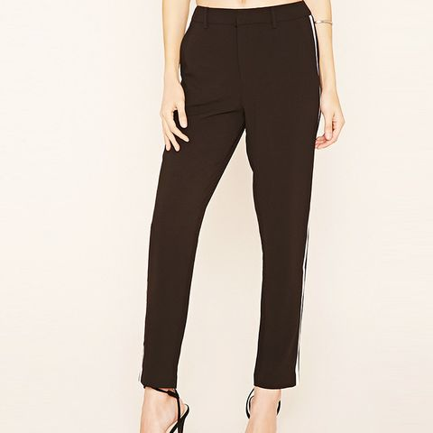 Contrast Trim Trousers