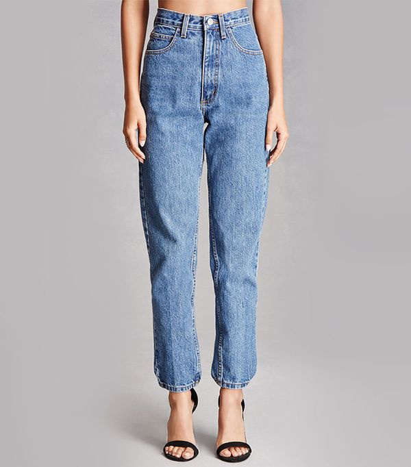 Forever 21 Repurposed High-Rise Jeans