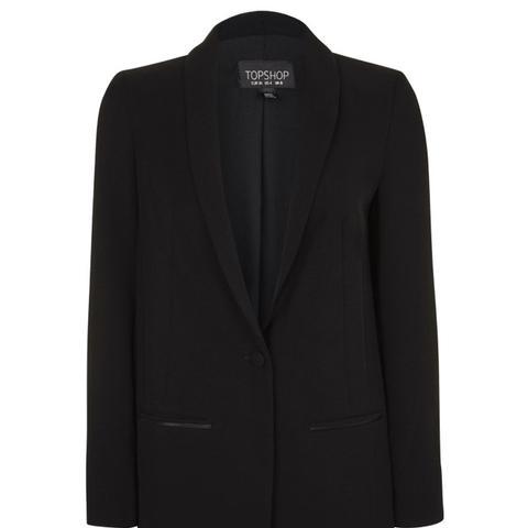 Slouch Tuxedo Jacket