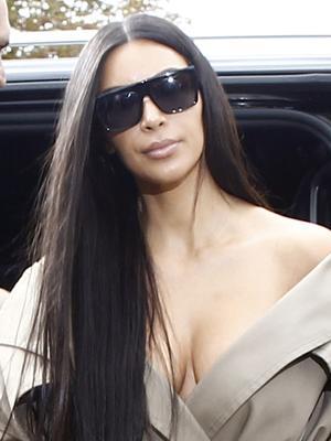Is Kim Kardashian West Making Lip Rings a Thing Again?