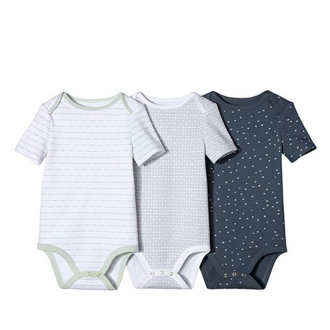 Baby Boys' 3-Piece Bodysuit Set