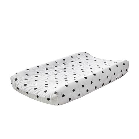 Horizontal Quilted Changing Pad Cover