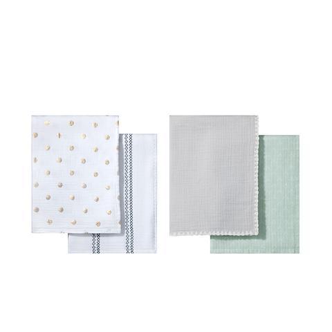 Muslin Blankets, 2 pk
