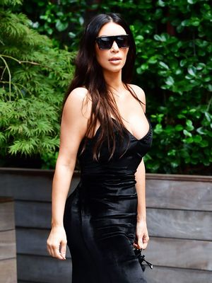 Kim Kardashian West's Latest Pair of Jeans Have Sent the World Into a Spin