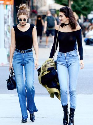 8 Times Kendall and Gigi Wore the Chillest Outfits Ever
