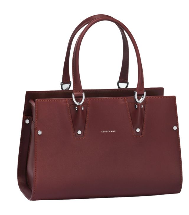 Longchamp red bag