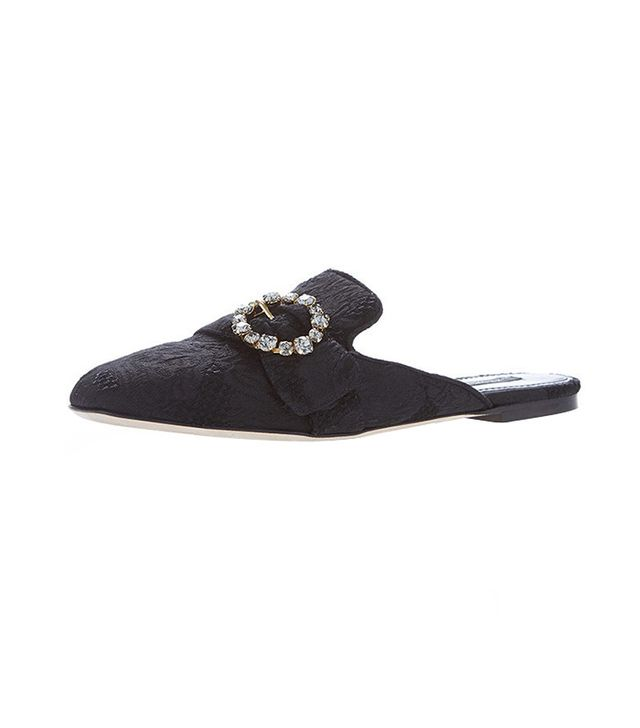 Dolce & Gabbana Jacquard Mules
