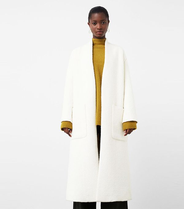 Mango Cotton Wool-Blend Coat