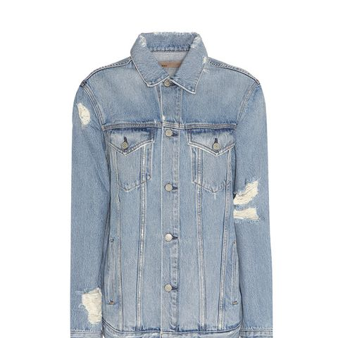 Daria Distressed Denim Jacket