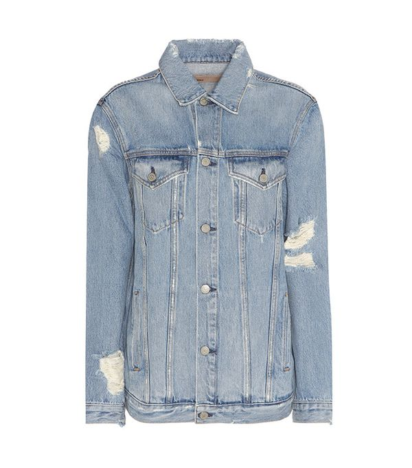 GRLFRND Daria Distressed Denim Jacket