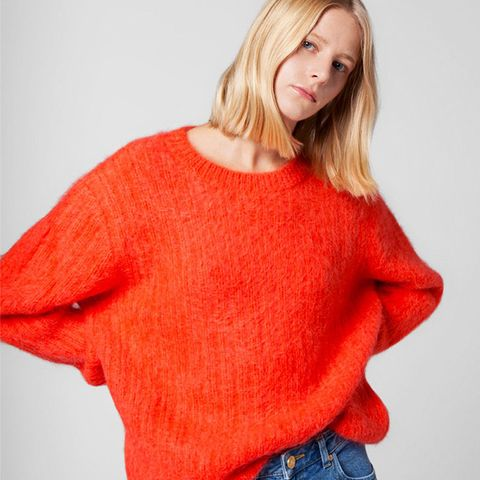 Mohair Ribbed Jumper