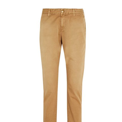 The Buddy Cotton-Twill Straight-Leg Pants