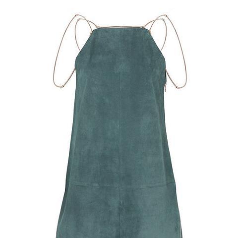Zoya Suede Dress