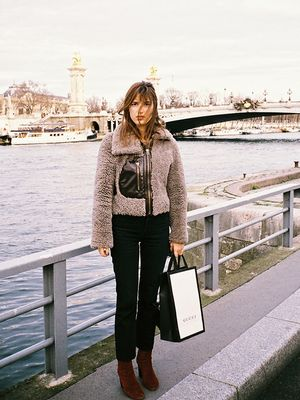 Parisian Girls All Wear This Outfit