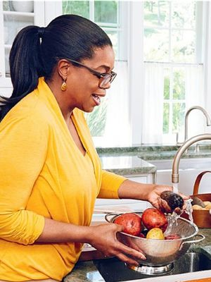 The Countdown Is Over: Oprah's First Cookbook Is Here
