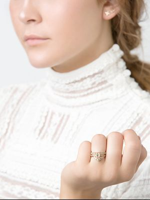 9 Pretty Engagement Rings for the Nontraditional Bride