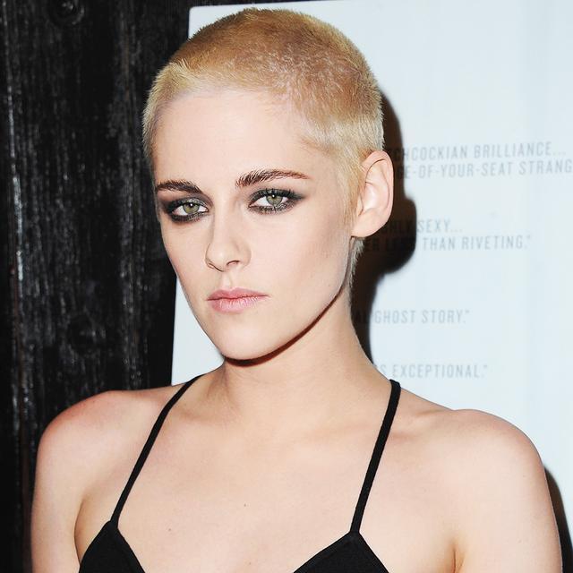 Kristen Stewart Just Shaved Her head