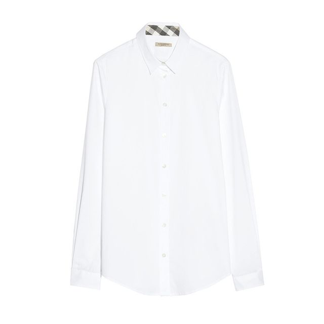 Burberry Stretch-Cotton Shirt
