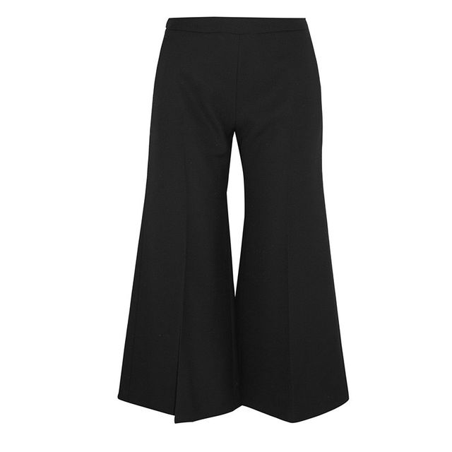 Acne Studios Isa Cropped Wool Pants