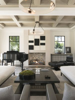 Kourtney Kardashian's Living Room Is on Point—Look Inside