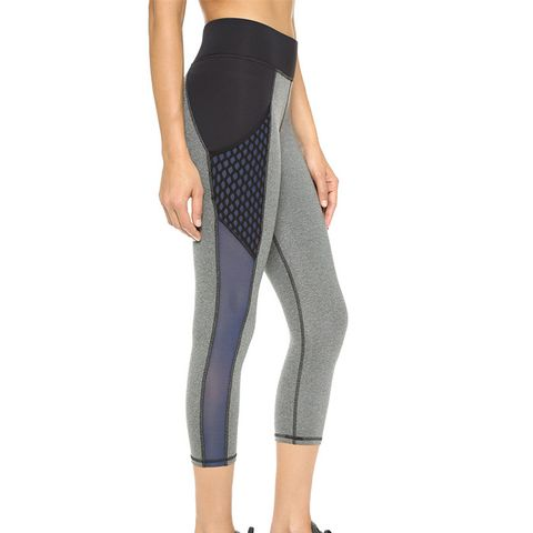 Stardust Crop Leggings with Pockets