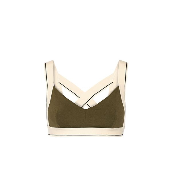 Olympia Activewear X Stretch-Jersey Sports Bra
