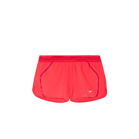 Aeroswift Mesh-Tripped Dri-Fit Stretch-Shell Shorts