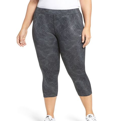 Power Essential Crop Running Tights (Plus Size)