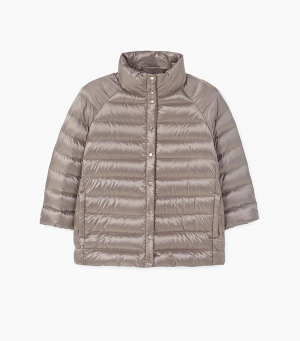 faux fur collar biker jacket zara