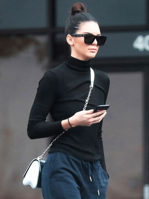 Of Course Kendall Jenner Looks Awesome in the Sneakers She Designed Herself