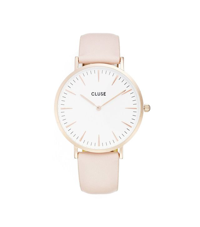 cluse-leather-watch