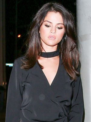 What Selena Gomez Wears Going Out (Hint: It's Not Skinny Jeans)